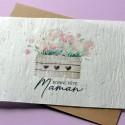 Carte à planter Bonne Fête Maman Tulipes