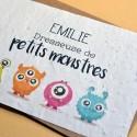 Carte à planter Dresseuse de petits monstres