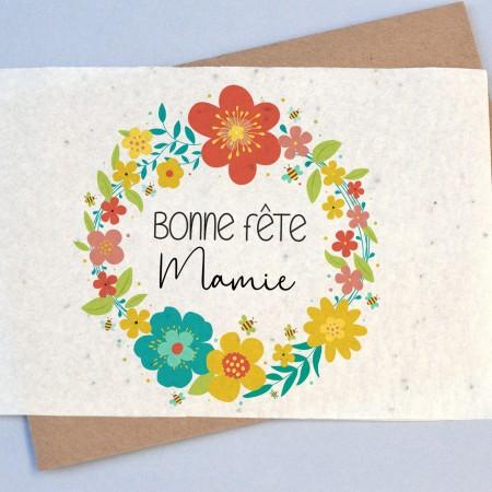 Carte à planter Bonne Fête Mamie