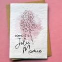 Carte à planter Jolie Mamie