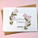 Carte à planter On t'aime Maman personnalisée