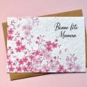Carte à planter Bonne Fête Maman Cerisiers - Sakura