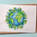 Carte à planter Terre et Arbres