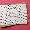 Carte à planter Merry Christmas