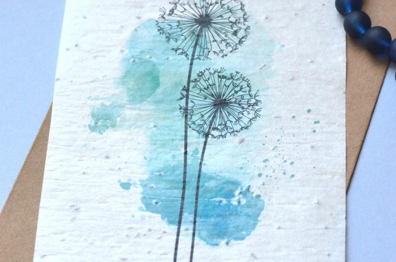 Carte à planter Dandelion
